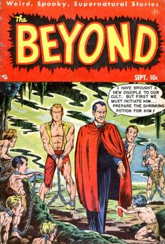 Comic Book Cover For The Beyond #6, men bound, art, classic