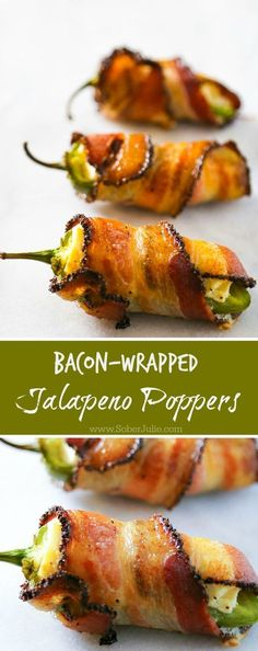 Insane This bacon wrapped jalapeno popper recipe is so EASY and yet so delicious! If you're having guests over try this appetizer recipe. The post This bacon wrapped jalapeno popper recipe . No Cook Appetizers, Appetizers For Party, Appetizer Recipes, Delicious Appetizers, Halloween Appetizers, Mexican Food Appetizers, Party Snacks, Easy Thanksgiving Appetizers, Appetizer Ideas