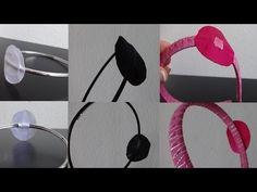 """Нежный Бантик - Заколка """"КИТТИ"""" Своими руками. Канзаши./Tutorial/ /DIY /Kanzashi / Make Hair Bow - YouTube"""