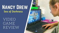 *This video is a sponsored collaboration. If you've ever wished you could be a detective, Her Interactive offers a long-running Nancy Drew video game series . Her Interactive, Video Games List, Video Game Reviews, Games For Girls, Gift List, Detective, Darkness, Videogames, Mystery