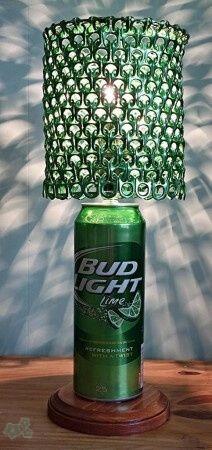 lamparas con anillas de latas 1