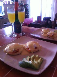 Christmas morning breakfast