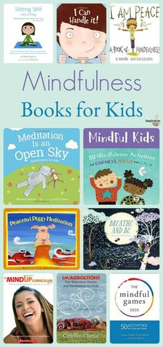 Children can learn mindfulness from us and from books. Which is why I've made this list of the best mindfulness books for kids, many of which include helpful mantras and meditations. Mindfulness Books, Mindfulness For Kids, Mindfulness Activities, Mindful Activities For Kids, Hobbies For Kids, Hobbies To Try, Hobbies That Make Money, Model Hobbies, Chico Yoga