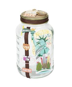 Jolee's Boutique® Vacation Savings Jar #papercrafting #craft