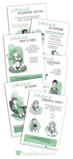 Les affiches - BougribouillonsBougribouillons Education Positive, Doula, Logo Inspiration, Health Fitness, Parenting, Positivity, Concept, Baby, Kids