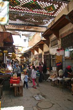 Al Karaouine Souk - Fes, Morocco