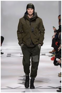 This #utilitarian #look from #Y3 invokes #military and #fighterpilot #style cues. #aviation #fashion