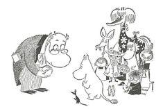 Muumit seikkailivat Pohjoismaiden Yhdyspankin mainoksessa vuonna 1956. Muumitarina julkaistiin kymmen...