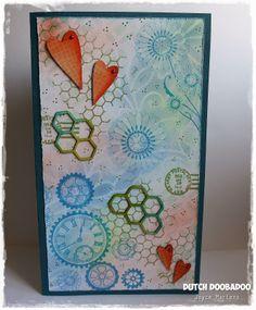 478.007.001 Dutch Softboard Art Honeycomb Door Joyce Martens