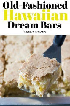 Old-Fashioned Hawaiian Dream Bars