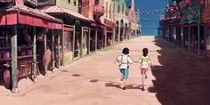 """"""" It's fun to move to a new place. It's an adventure. (Spirited Away, 2001) """""""