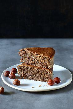 Ciasto kawowe bez mąki i cukru (z mielonych orzechów) - Facet i Kuchnia