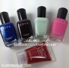LOVE FOR LACQUER: ZOYA GIVEAWAY!!!! - Open International!
