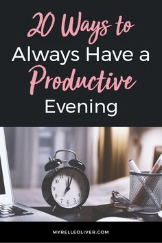 Here are 20 ideas on having a productive evening. An evening routine can help increase productivity. You need to pick what matters to you as part of your routine. Productive Things To Do, Productive Day, Working Mom Schedule, Working Moms, Evening Routine, Night Routine, All That Matters, Time Management Tips, Organization Hacks