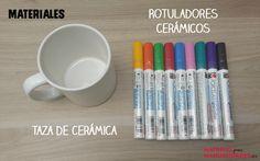Tutorial Pintar cerámica - Materiales