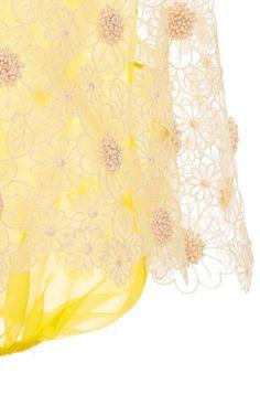 Silk Organza Top by DELPOZO - Moda Operandi