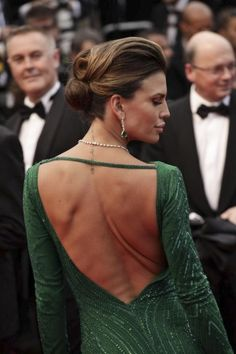 That Updo #hair #style @ Cannes Film Festival 2013 - Opening Ceremony - The Great Gatsby Red Carpet