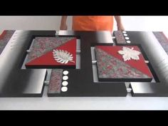 Contracolado Artistico - Cofres - Miguel Lucero - YouTube 3d Painting On Canvas, Mural Painting, Mural Art, Canvas Art, Altered Canvas, Texture Art, Geometric Shapes, Painting Inspiration, Art Images