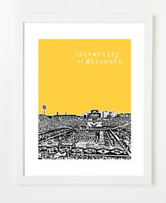 Mizzou University of Missouri Faurot Field Poster  $20.00