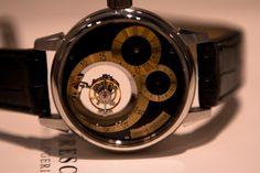 Thomas Prescher - Triple Axis Tourbillon Regulator | Watch You Go    http://www.watchyougo.com/blog/2012/03/27/thomas-prescher-triple-axis-tourbillon-regulator