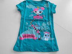 Girls Lalaloopsy Blue T Shirt Size 4 5 | eBay