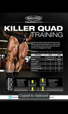 Muscle Fitness, Health Fitness, Muscle Food, Workout Fitness, Fitness Diet, Leg Day Workouts, Training Workouts, Killer Leg Workouts, Fitness Studio Training
