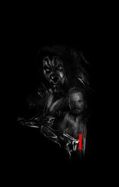 Star Wars Episode I Poster by Rafał Rola The Phantom Menace