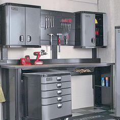 garage ideas on pinterest craftsman workbench craftsman