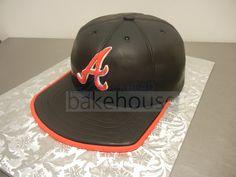 39fef5d0cb4 Baseball Cap Cake - Buckhead Bakehouse  groom  cake