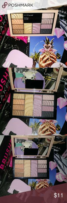 Maybelline Total Temptation Shadow+Highlighter Pal Brand New💜 💠 Maybelline Total Temptation Eyeshadow + Highlighter Palette 💠Beautiful Colors   💜BUNDLE&SAVE💜CHK OUT MY CLOSET! SURE THERE'S SOMETHING U WILL  LIK/LOVE💖LOTS TO CHOOSE FROM! ❌PLEASE REMEMBER THERE'S A $3 POSH FEE ALREADY TAKEN OFF TOTAL!THX🌸 Maybelline Makeup Eyeshadow