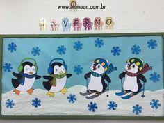 24 Ideias de Mural para Inverno - Educação Infantil - Aluno On Aqua, Family Guy, Education, Winter, Diy, Fictional Characters, Winter Ideas, Winter Decorations, Paneling Ideas
