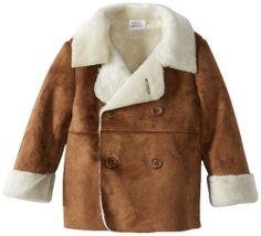 Boys faux shearling jacket