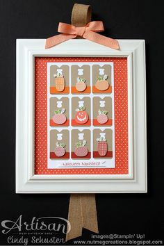 Stampin' Up! Home Decor by nutmeg creations: Halloween Frame