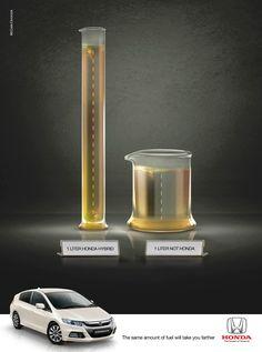 Honda Hybrids: The Same Amount of Fuel #ads