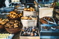 Freshly baked bread for breakfast at THIRTY8 - Living Grand in Kuala Lumpur, Away Lands.