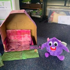 Some students made their Pet Creatures a house to live in - how thoughtful! Make sure to send us your pics to info@yourteacherspetcreature.com Classroom Behavior Management, Behaviour Management, Teachers Pet, Positive Behavior, Cute Plush, Big Challenge, Child Love, Early Childhood Education, Your Teacher
