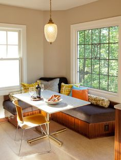 Corner Bench Dining Design Ideas, Pictures, Remodel, and Decor - page 11