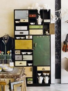 love the recycled look