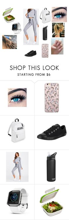 """""""Part 2"""" by maddison-baron on Polyvore featuring MINX, Forever 21, Converse and Fitbit"""
