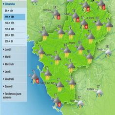 Grand Ouest. Vigilance orange orages et inondations en Anjou et Deux-Sèvres | Courrier de l'Ouest