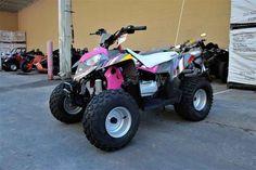 New 2017 Polaris Outlaw 110 Pink Power ATVs For Sale in Georgia.