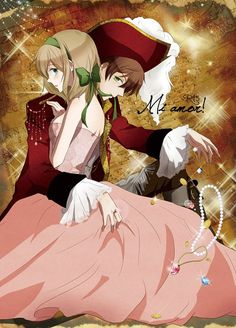 Hetalia Pirate!Spain and Belgium <3