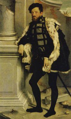Portrait of a Man, 1554 by Giovanni Battista Moroni (Italian c. 1520-1578)