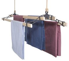Pulleymaid Clothes Airer | Clothes Dryer | Traditional Ceiling Airer