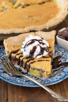 CHOCOLATE CHIP CHESS PIEReally nice recipes. Every hour.Show me  Mein Blog: Alles rund um Genuss & Geschmack  Kochen Backen Braten Vorspeisen Mains & Desserts!