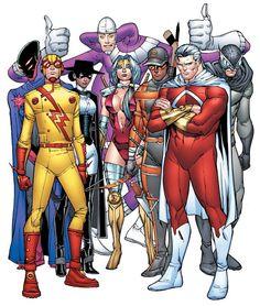 Art Vault — The Multiversity (DC Comics) * - Kingdom. Character Modeling, Comic Character, Character Ideas, Character Design, Geeks, Dc Speedsters, Dc Comics Characters, Action, Comic Page