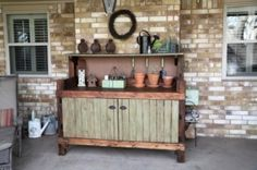 Potting bench by georgette