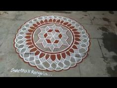 Creative extension kolam...walk around - YouTube