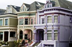 "gypsy-native: "" Victorian Homes, San Francisco, California """