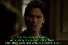 Damon Salvatore Quotes - Vampire Diaries Season 3 - Best Character Quotes   The Vampire Diaries